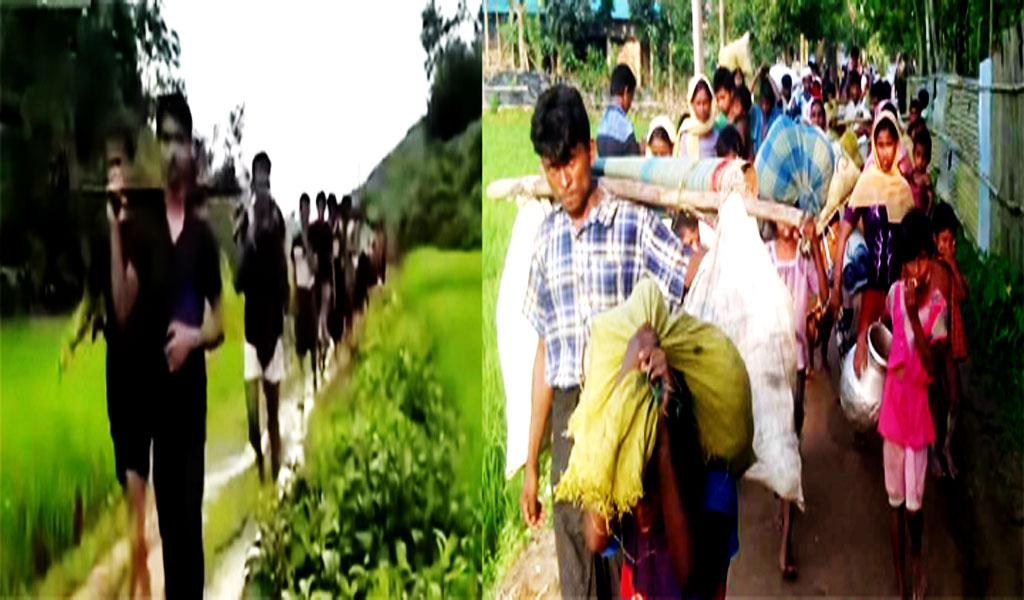 রোহিঙ্গা স্রোতে আসছে অস্ত্র ও ইয়াবা: নিরাপত্তায় হুমকি