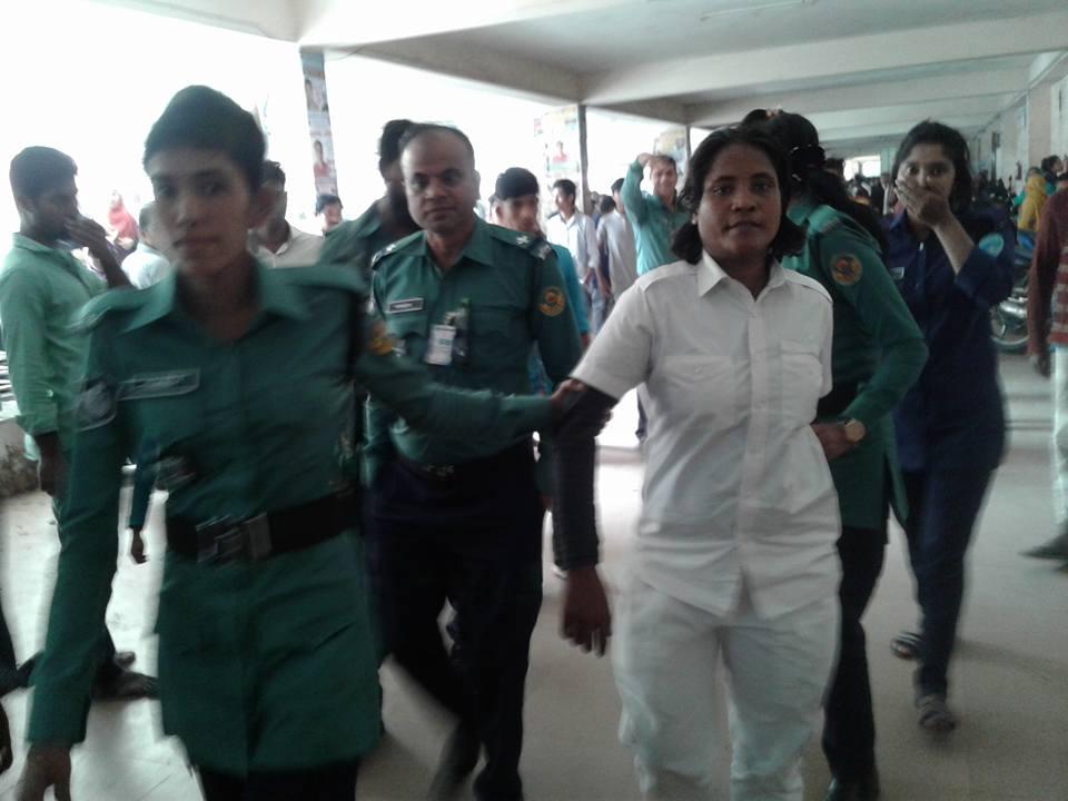 চট্টগ্রামে ডিবির সোর্স সুমি আটক
