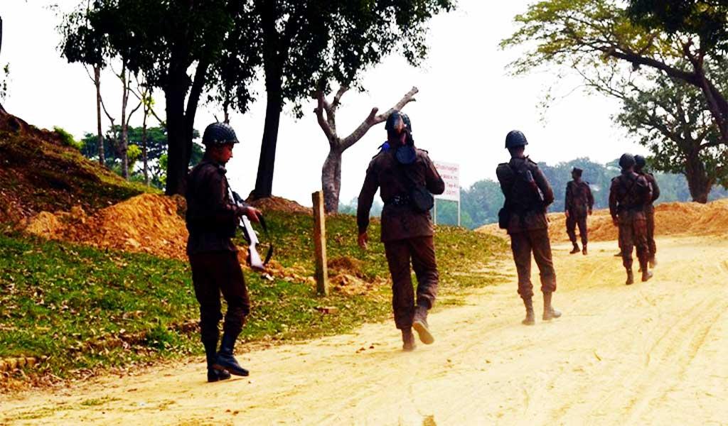 জিরো পয়েন্টে ঢোকার প্রস্তুতি নিচ্ছে মিয়ানমারের সেনারা