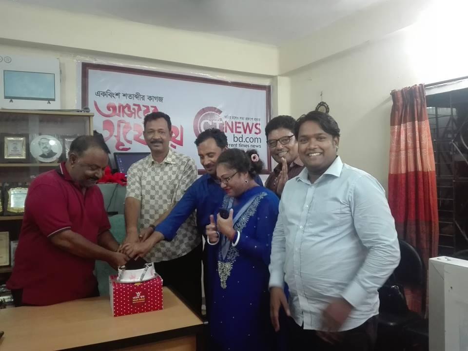 সাংবাদিক জুবায়ের সিদ্দিকী'র জন্মদিনে ফুলেল শুভেচ্ছা