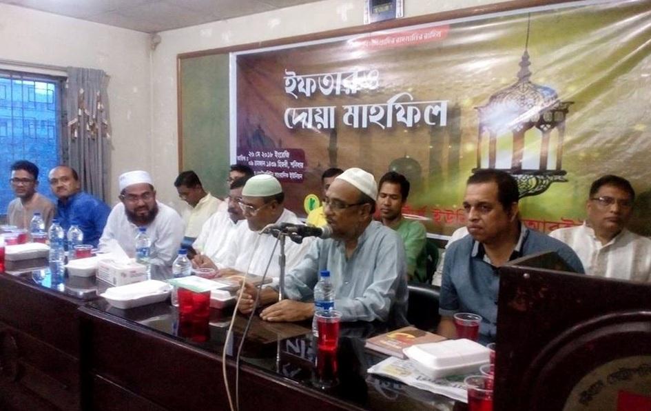 চট্টগ্রাম রিপোর্টার্স ইউনিটির ইফতার মাহফিল অনুষ্ঠিত