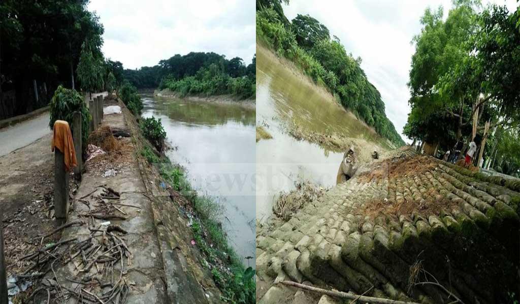 সাতকানিয়ার ডলু নদী ভাঙ্গন রোধে অবদান কেএসআরএম'র